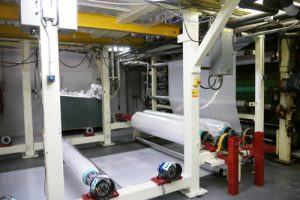 アルミ遮熱シート製造工程